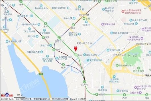 云玺锦庭交通图