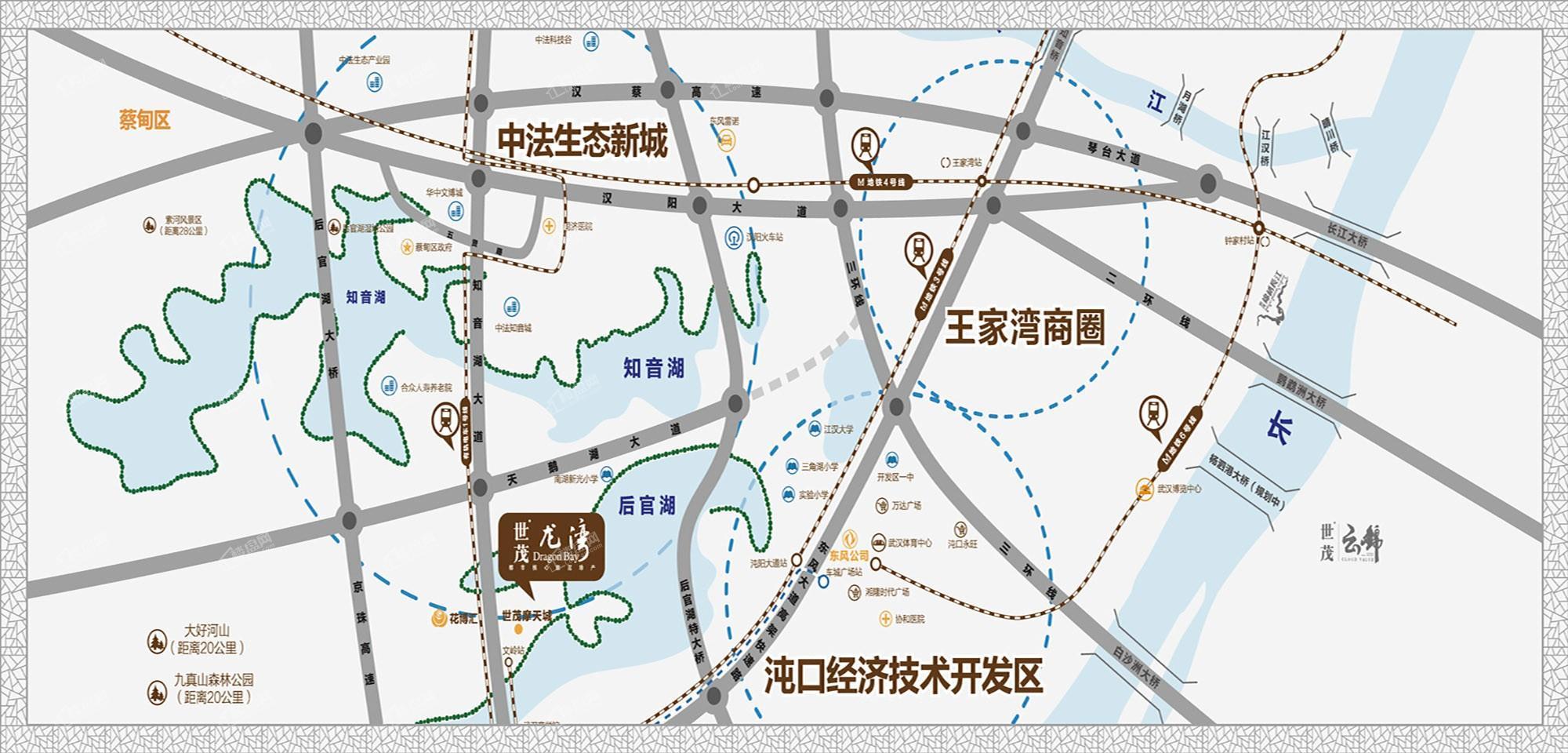 世茂龙湾位置图