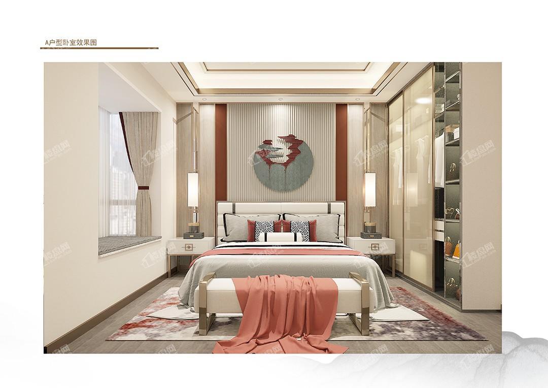 A户型卧室效果图