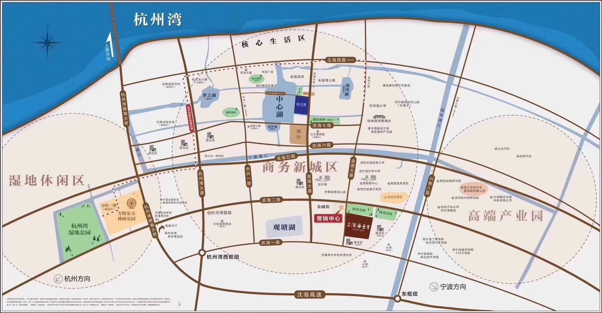 中南滨海壹号位置图