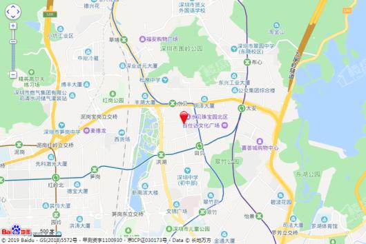 泰丰·贝悦汇交通图