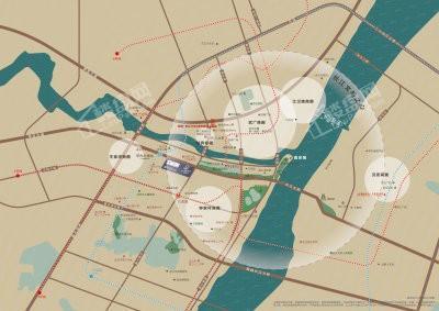 融创武汉1890位置图