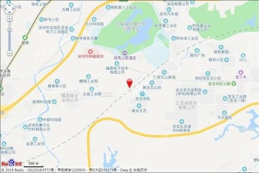 宝昌利御景御峰公馆交通图