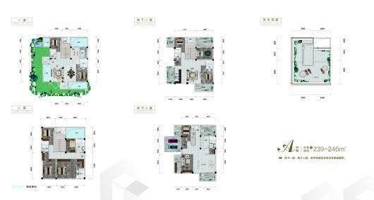 BOSS SPACE企业家领域户型图