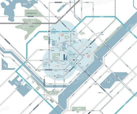 泛悦南国中心交通图