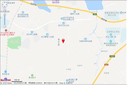 东湖高新产业创新基地交通图