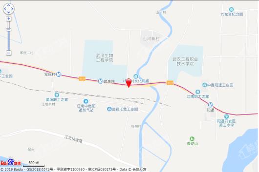 汉口江北新时代交通图