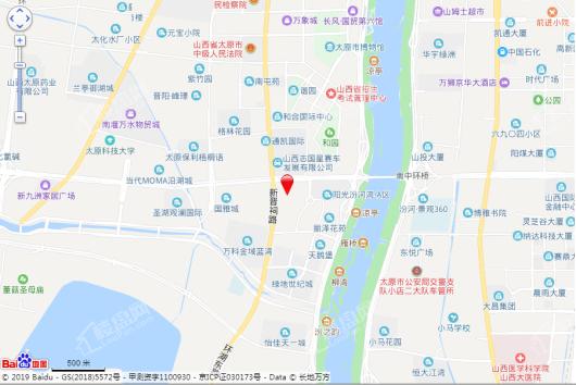 太原万科蓝湾传奇交通图