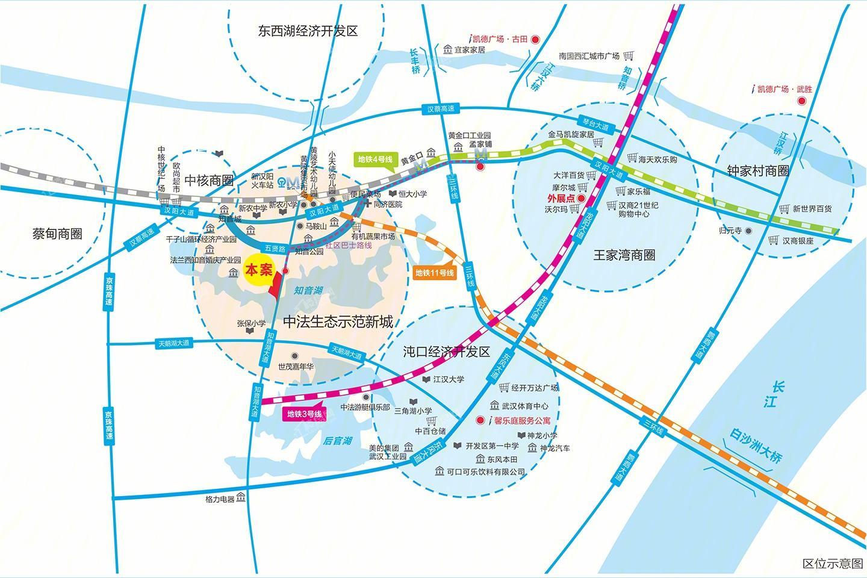 凯德悦湖位置图