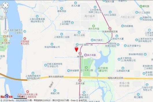 森兰壹公馆交通图