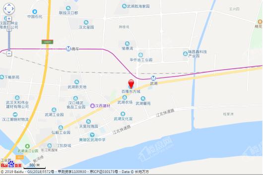 东方城三期交通图
