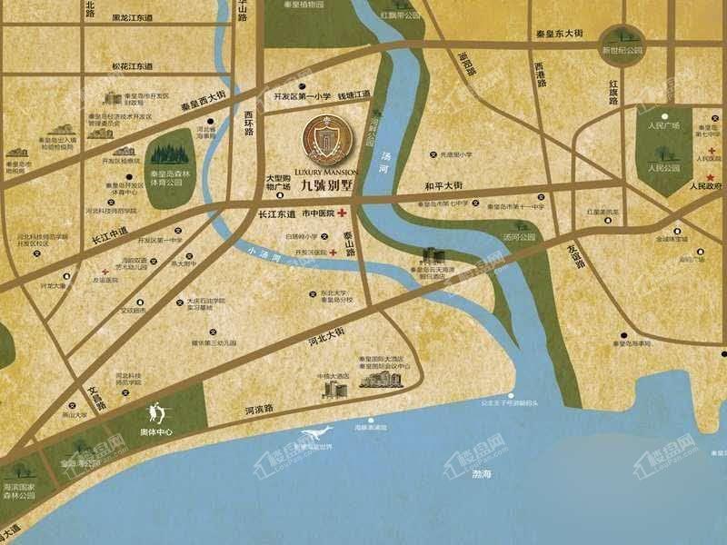 九號别墅位置图