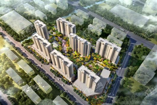 碧桂园·繁华里项目鸟瞰图