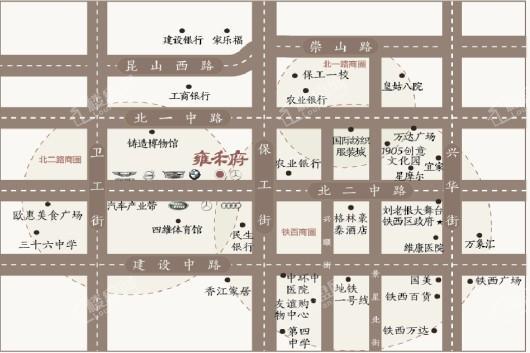 旭辉·雍禾府(别墅)交通图