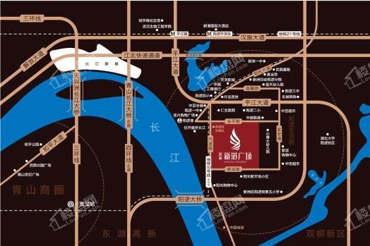 国瑞新港广场位置图