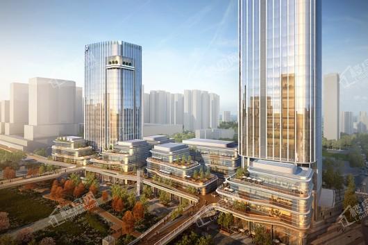 保利国际金融中心(花都)楼栋外立面