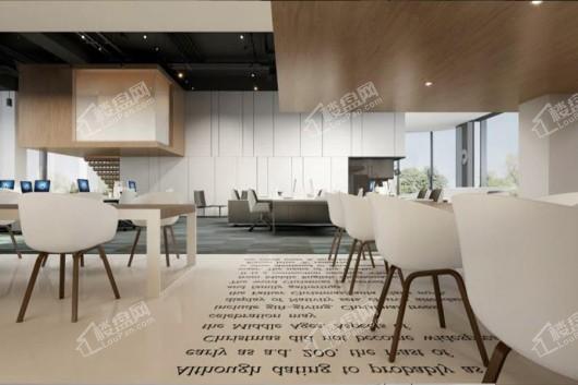 保利国际金融中心(花都)甲级写字楼内部