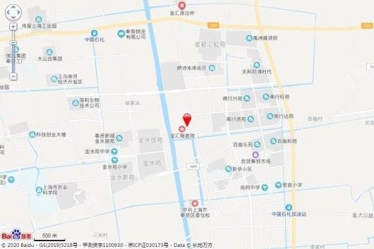 南桥金茂悦交通图