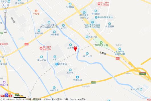 天府国际凤凰城二期交通图