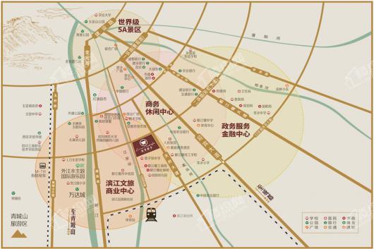 翡翠积家交通图