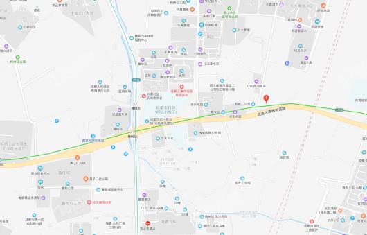 中梁雲玺臺交通图