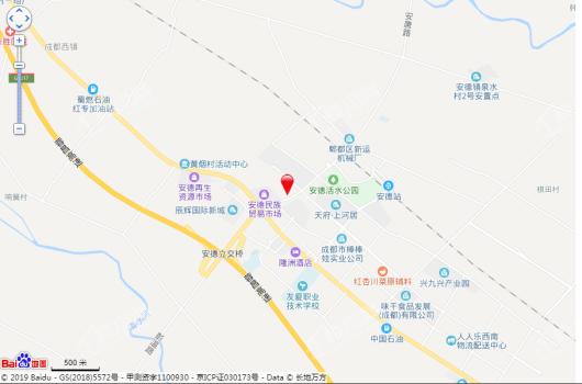 富元君庭交通图