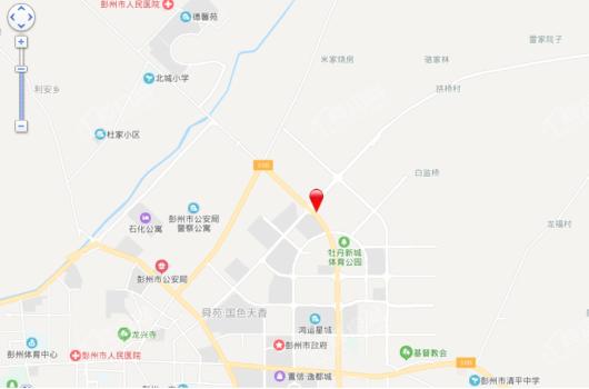 鑫悦天地交通图