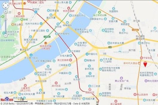 滨江新希望拥潮府交通图