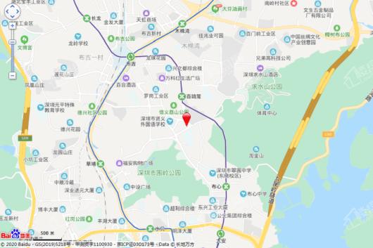 信义荔景御园交通图