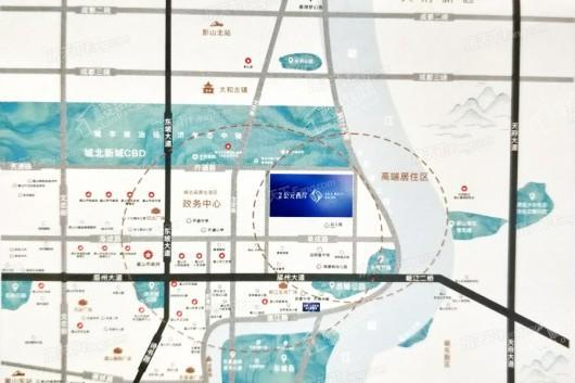 旭辉公元西岸交通图