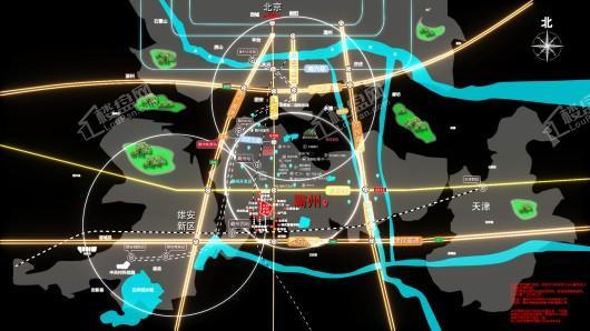 万科·时代之光交通图