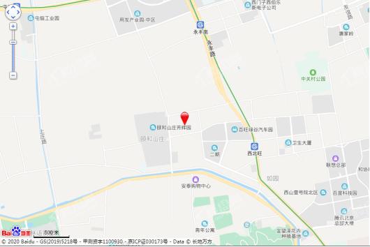 永靓家园交通图