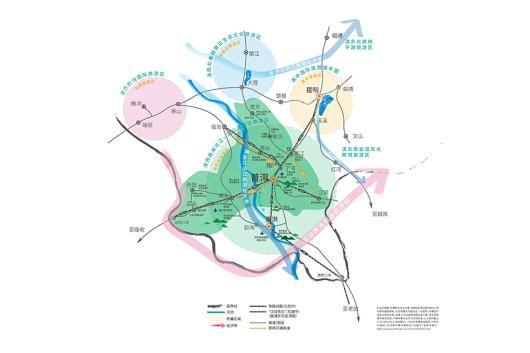 融创普洱国际健康城交通图