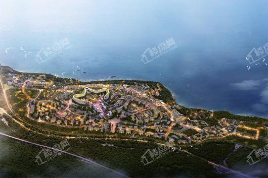 滇池南湾未来城效果图