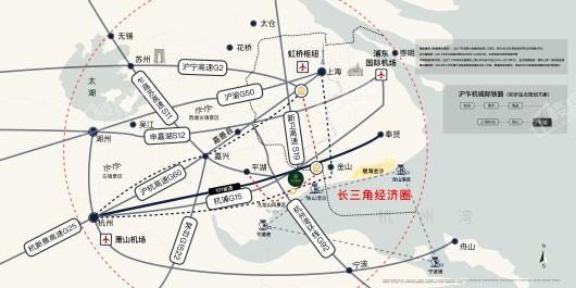 中南新悦府交通图