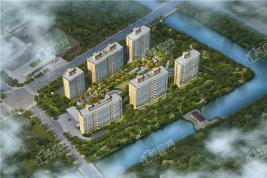 金昌香湖印鸟瞰图