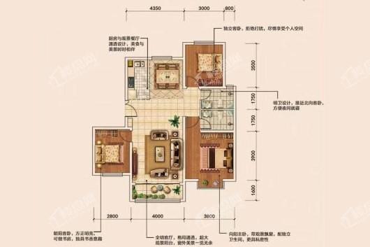盛泰家园户型图