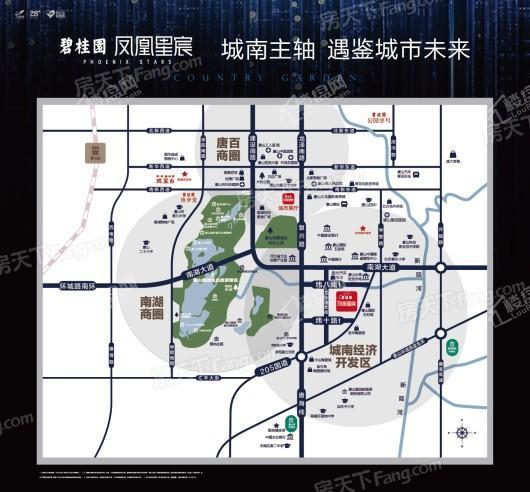 碧桂园凤凰星辰交通图