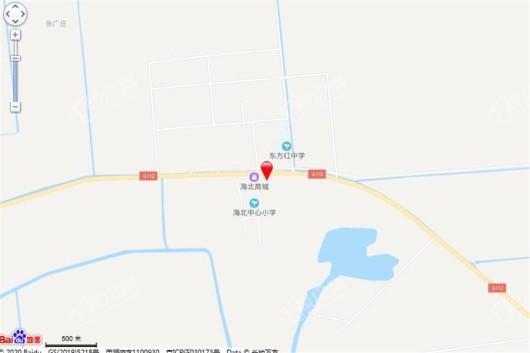 芦海鑫城交通图