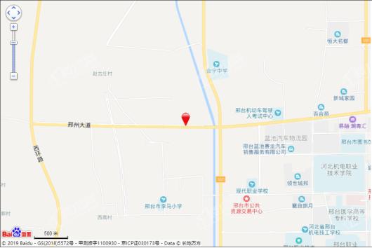 邢台富力城交通图