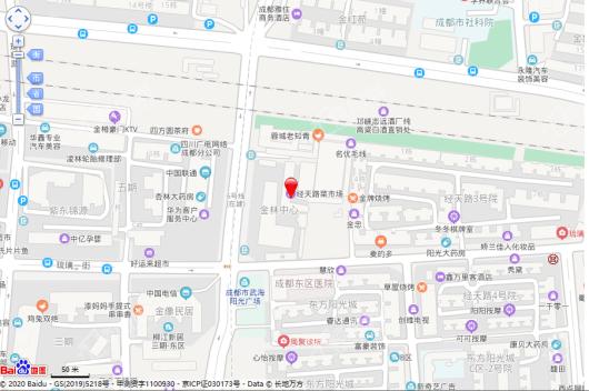 金林中心交通图