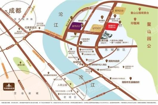 新城悦隽江山交通图