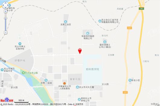 旭辉望岳府交通图