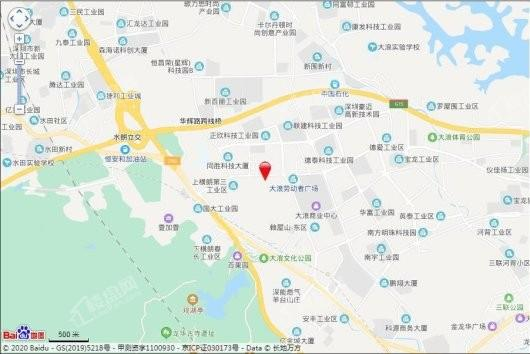 安宏基星曜广场交通图