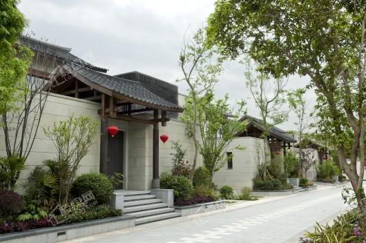 中国会馆·鎏金水榭实景图