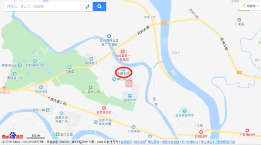中国会馆·鎏金水榭交通图