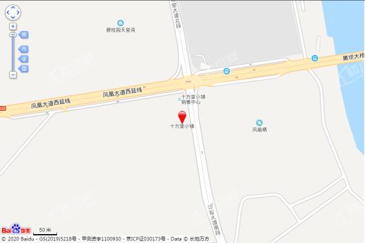 十方堂小镇项目交通图