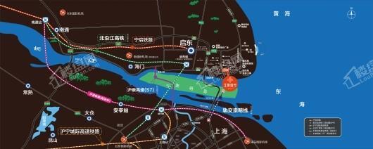 江景壹号交通图