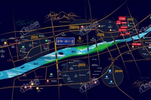 中弘·泊金湾交通图
