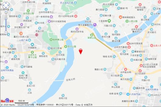 中铁城临江府交通图